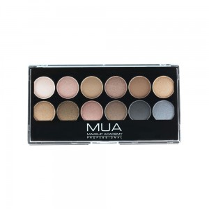 MUA Eyeshadow Palette Undressed Paleta 12 cieni do powiek