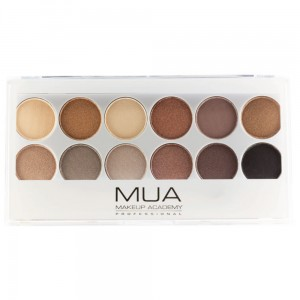 MUA Eyeshadow Palette Undress Me Too Paleta 12 cieni do powiek