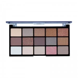 MUA Pro 15 Shade Eyeshadow Palette Heavently Neutral Paleta 15 cieni do powiek