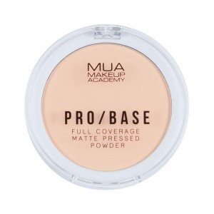 MUA PRO / BASE Full Coverage Matte Pressed Powder #110 Puder matujący