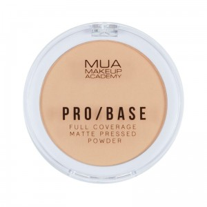 MUA PRO / BASE Full Coverage Matte Pressed Powder #120 Puder matujący