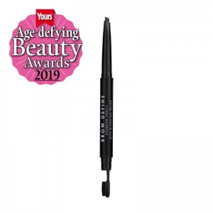 MUA Brow Define Eyebrow Pencil With Blending Brush BLACK Kredka do brwi