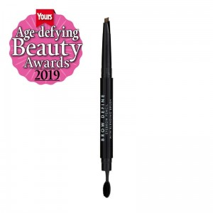 MUA Brow Define Eyebrow Pencil With Blending Brush MID BROWN Kredka do brwi
