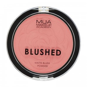 MUA Blushed Matte Blush Powder  Róż matowy PAPAYA WHIP